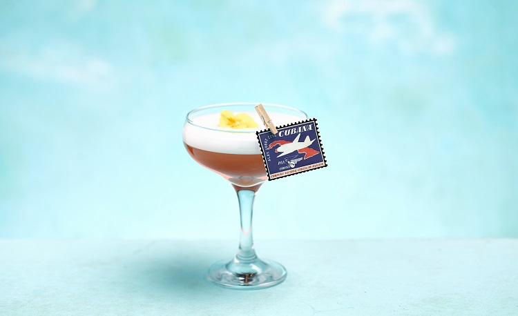 Pan Am featuring Bacardi Cuatro rum.